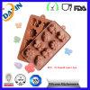 Multi Style Silicone Chocolate Mold BPA Free Fdalfgb Chocolate