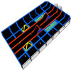 Gymnastic Indoor Trampoline Site with Soft Castle Playground