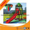 Xiujiang New design Double Slide with Stairs Outdoor Playground Plastic for Kids