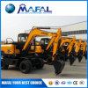 360 Degree Full Hydraulic 4 Wheel Drive 13 Ton Excavator