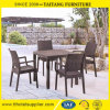 Garden Furniture Plastic Leisure Chair with Rattan Imitate