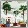 Indoor Decorative Fiberglass Steel Plastic Artificial Palm
