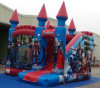 2016 4.5X5m Inflatable Bouncer Slide Combo Avengers Castle for Sale Overseas