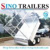 Drop Down Side Double Axle Hydraulic Trailer