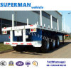 Heavy Duty 3 Axle Cargo Transport Semi Truck Trailer with Pole for Wood/Cargo