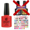 Top Seller 93 Colors One Step Gel Nail Polish, Colorful Bottles