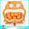 Collapsible Bamboo Animal Shaped Fruit and Veggie Basket