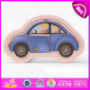 2015 Educational Toy Wooden Mobile Puzzle Game, Mini Car Kids Wooden Jigsaw Puzzle Toy, High Quality Wooden Car Puzzle Toy W14c178