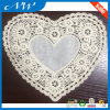 Heart Shape with cotton Fabric Lace Collar
