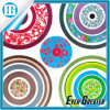 Chinese Culture Circular Pattern Art Colorful Car Sticker