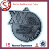 Custom Cut out Antique Silver Finisher Medallion
