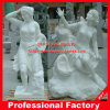 Hand Carved Life Size Garden Statue