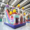 Popular Cartoon Theme Inflatable Fun City Castle for Kids (AQ01505-3)