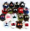 Fur Monster Toys Raccoon Fur Monster Keychains Promotional Fur Monster
