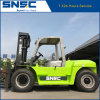 China 10ton Diesel Forklift with Hydraulic Positioner