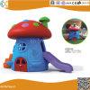 Plastic Mushroom Playhouse with Slide