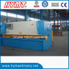 QC11Y-12X2500 hydrauli guillotine shearing cutting machine