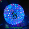 Beautiful LED 3D RGB Big Ball Motif Lights for Shopping Mall Decoration