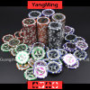 12g Ultimate Sticker/ Poker Chips European Clay Laser Casino Chips (YM-CY02)