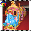 Electric Trackless Elephant Train for Amusement Theme Park Ride