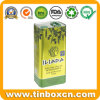 5L Leakproof Olive Oil Tin Can with Plastic Circle