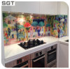 4-9mm Tempered Colored Art Decorative Digital Printing Glass