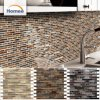 Classic Crackle Style Mix Color Glossy Glass&Metal Mosaic Tile for Decoration