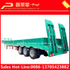 Multipurpose 40ft Low Bed Truck Trailer with Side Wall