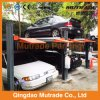 Mechanical Four Post Stacker Parking Lift for 2 Auto Car
