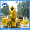Mini Automatic Self Loading Mobile Concrete Mixer Hydraulic Diesel Truck