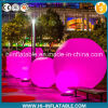 Hot Sale Christmas, Event, Park Decoration Inflatable Ground Ball with LED Light for Sale