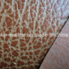 Top Sell Sofa PU Leather for Outdoor Interior (HW-201)