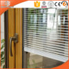 Irregular Grille Beautiful View Effects Glass Patio Door, Customized Size Aluminum Clading Solid Wood Lift Sliding Door