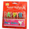 Glitz Happy Birthday Pick Party Candles Birthday Parties Cake Decorations (B3006)