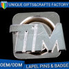 Cheap High Quality Metal Name Plates Badges with Plated Gold