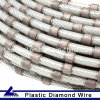 Sintered Plastic Fixing Diamond Wire for Factory Use