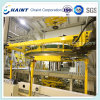 Nonwoven Fabric Roll Handling and Wrapping System