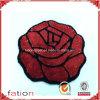 Beautiful Rose Flower Design Shaggy Carpet Handmade Door Mat