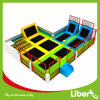 Indoor Supermarket Large Free Jumping Trampoline Court for Kids