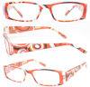Plastic Beautiful Pattern Reading Glasses (RP483048)
