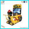 Racing Car with Video Game Arcade Machine Type Need for Speed