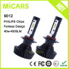 The Latest Super Bright Halogen Replacement 4500lm 9012 Philips Car LED Headlight