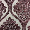 Damask Jacquard Chenille Polyester Sofa Curtain Fabric