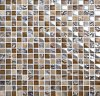 Interior Wall Tile Glass and Stone Mosaic (M815010)