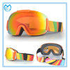 Color Coating PC Mirrored Snowboarding with Anti Impact Glasses