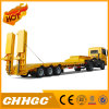 Profession Manufacture Lowbed Semi Trailer for Lager Machine