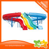 Giant Water Park Equipment Fiberglass Rainbow Water Slide Price for Sale
