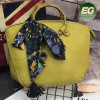 China Manufacturer Direct Factory Women Handbag Satchel Bag with Silk Scarf Sh168
