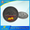 Professional Customized Zinc Alloy 3D Antique Silver Plated Challenge Coin with No MOQ (CO37-A)