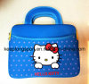 Fashionable Hello Kitty Printing Neoprene Laptop Bag with Handle